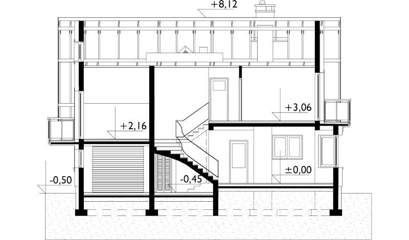 Проект дома Зоя Нео (E-1044)