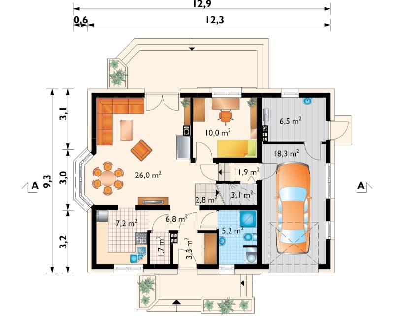 Проект дома Зоя Ультра (E-1058)