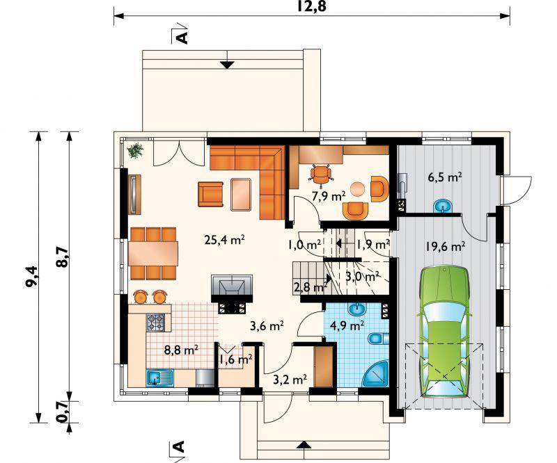 Проект дома Зольтан Нео (E-1187)