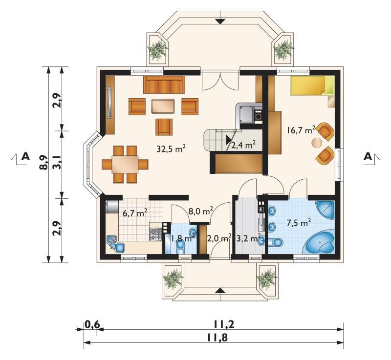 Проект дома Зора (E-1065)