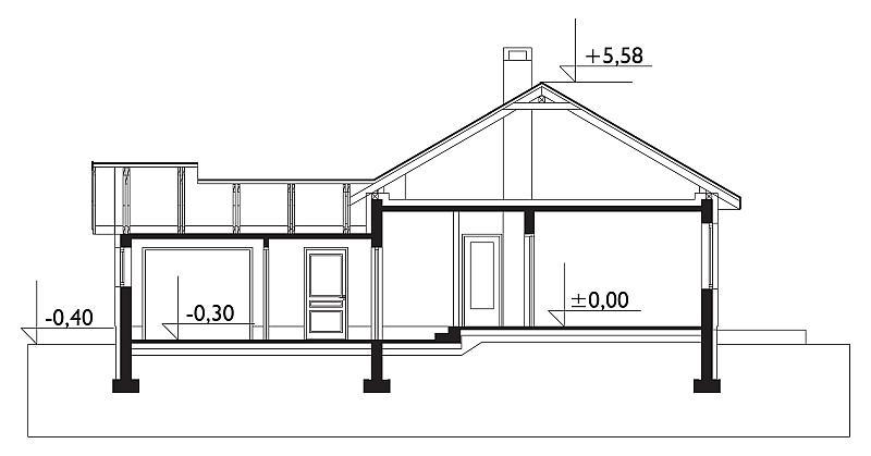 Проект дома Жучок-2 (E-725)