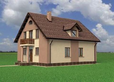 Projekt domu Abakus