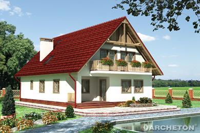 Projekt domu Adam