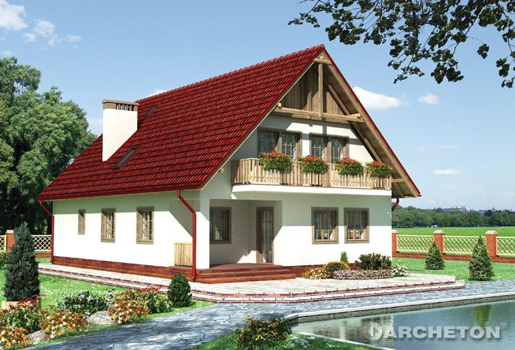 Projekt domu Adam - prosty i tradycyjny dom, o nieskomplikowanej konstrukcji