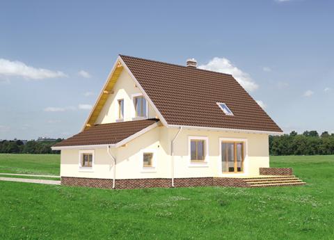 Projekt domu Aga