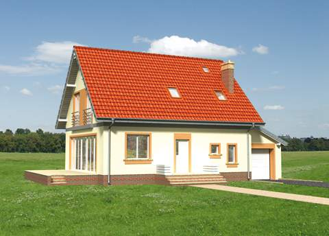 Projekt domu Aga Eko