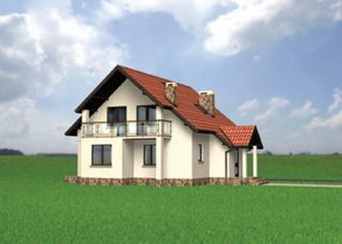 Projekt domu Agat