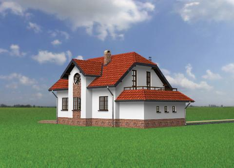 Projekt domu Agawa