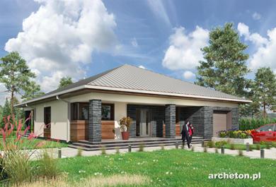 Projekt domu Ajaks