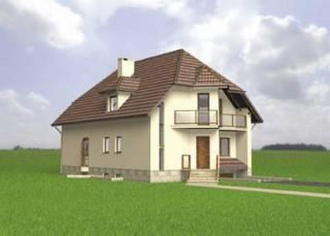 Projekt domu Akacja