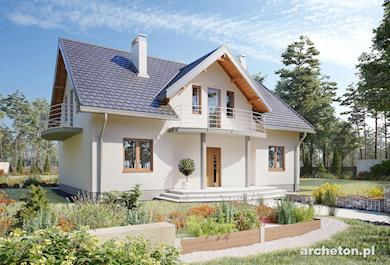 Projekt domu Akord