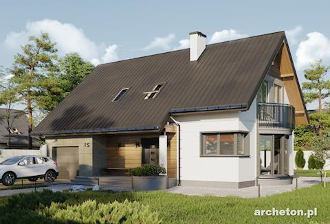 Projekt domu Alba