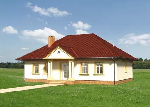 Projekt domu Aleksandria