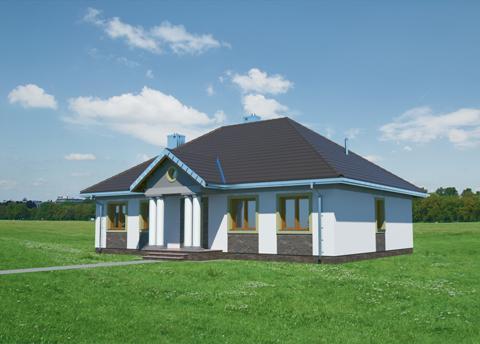 Projekt domu Aleksandria Hera