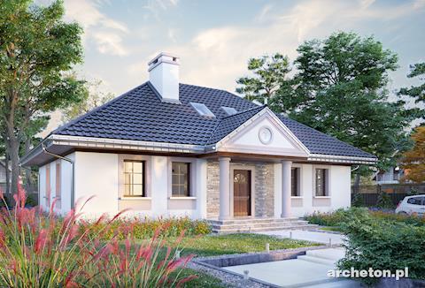 Projekt domu Aleksandria Tura