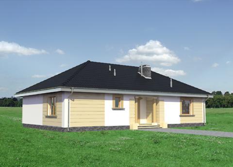 Projekt domu Allegro Eko