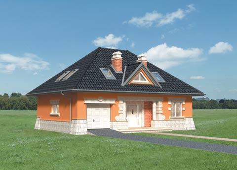Projekt domu Amadej Krak