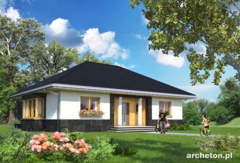 Projekt domu Amadej Piano