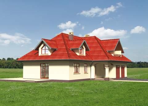Projekt domu Amber