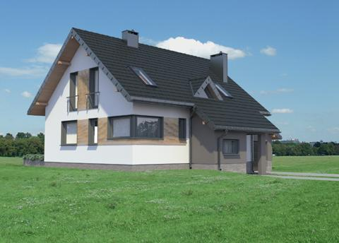 Projekt domu Amelia