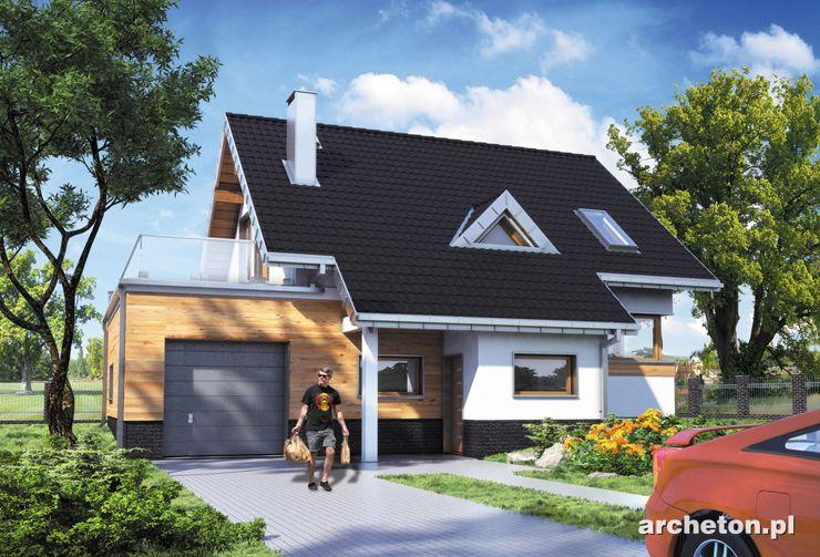 Projekt domu Amelia 100 - funkcjonalny dom, który spełni oczekiwania 4 osobowej rodziny