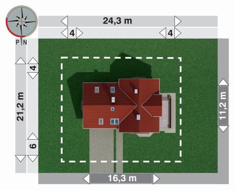 Projekt domu Ametyst G2