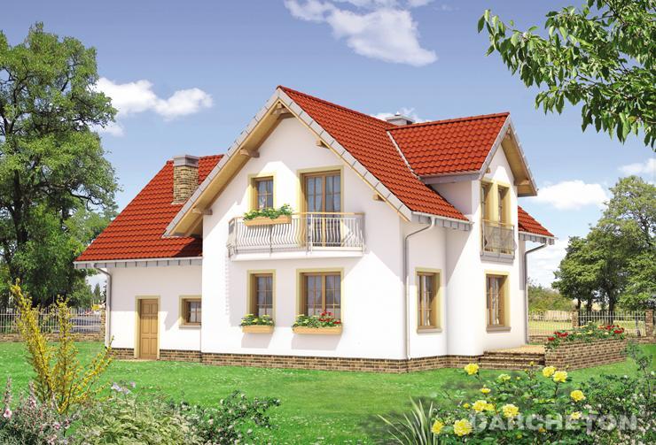 Projekt domu Ametyst Polo - olśniewający dom z dobrze rozplanowanym układem pomieszczeń