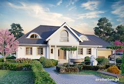 Projekt domu Anielski Dwór