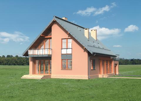 Projekt domu Argon
