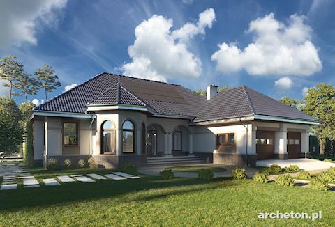 Projekt domu Arkadia