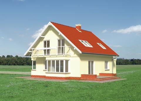 Projekt domu Arletta