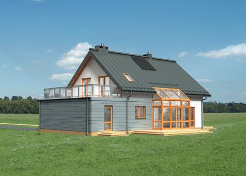 Projekt domu Arsen