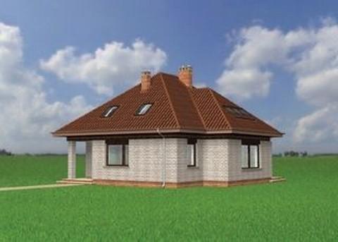 Projekt domu Artemon