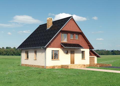 Projekt domu Aster