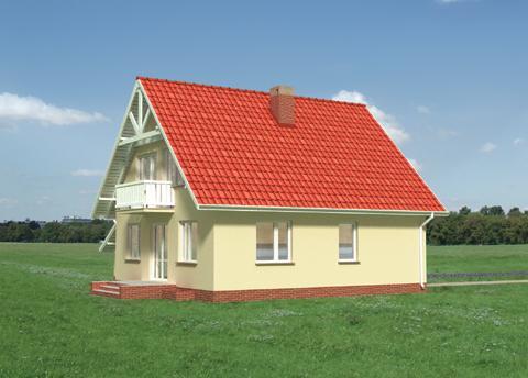 Projekt domu Aster-2