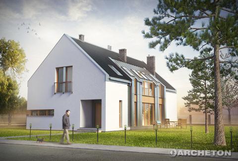 Projekt domu Astryda