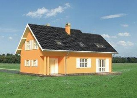 Projekt domu Atanazy