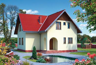 Projekt domu Atol