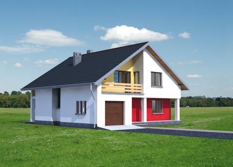 Projekt domu Atut
