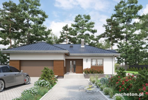 Projekt domu Aurelia