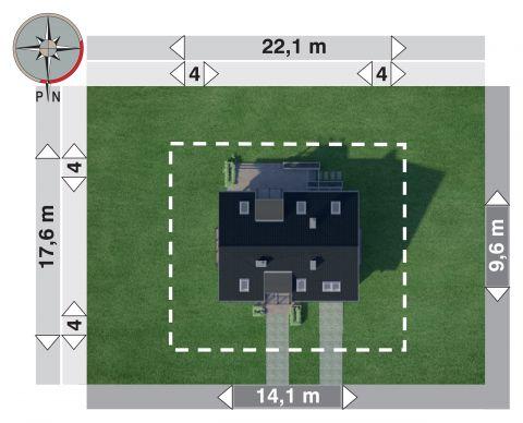 Projekt domu Axel