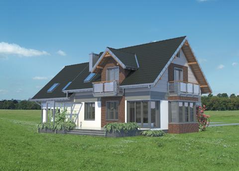 Projekt domu Axel Atu
