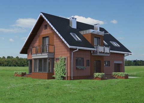 Projekt domu Axel Ceramik