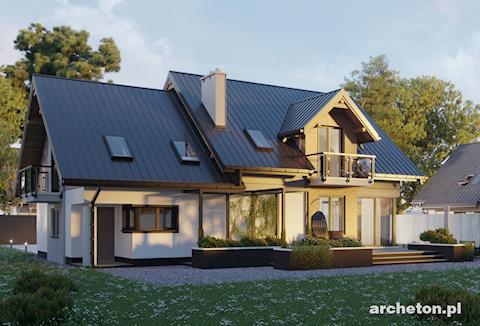 Projekt domu Axel Rex