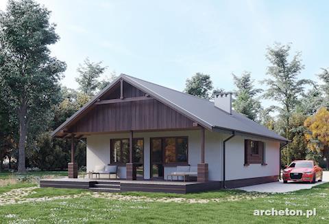 Gotowe Projekty Malych Domow Do 115 Mkw Archeton Pl