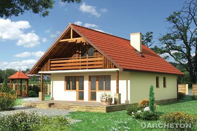 Projekt domu Baba Jaga-2