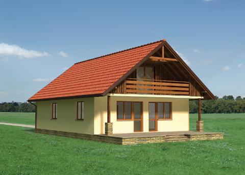Проект домa Баба Яга-2