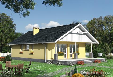 Projekt domu Baba Jaga