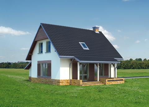 Projekt domu Balbina