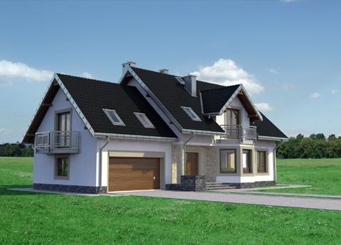 Projekt domu Baltazar